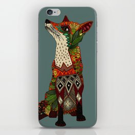 fox love iPhone Skin