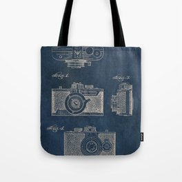 Cazin Camera patent art Tote Bag