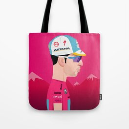 Vincenzo Nibali | Side Profile Tote Bag