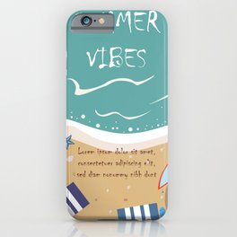 Summer Life iPhone Case