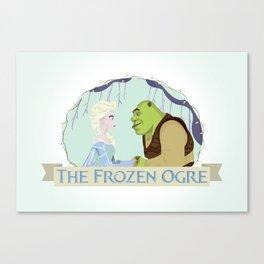 The Frozen Ogre Canvas Print