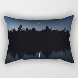 Venusian Lake Rectangular Pillow