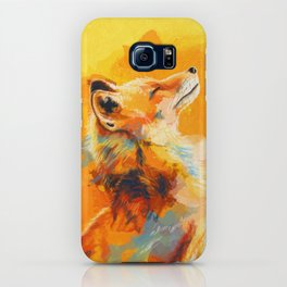 Blissful Light - Fox portrait iPhone Case