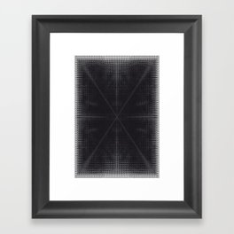 X 2 Framed Art Print