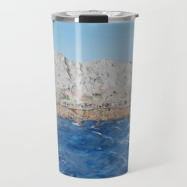 Sicilia painting Travel Mug