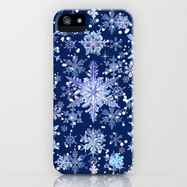 Snowflakes #3 iPhone Case