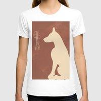 doberman T-shirts featuring Doberman Dog by ialbert