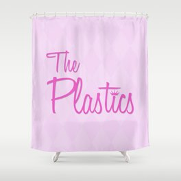 The Plastics   From The Movie Mean Girls Shower Curtain