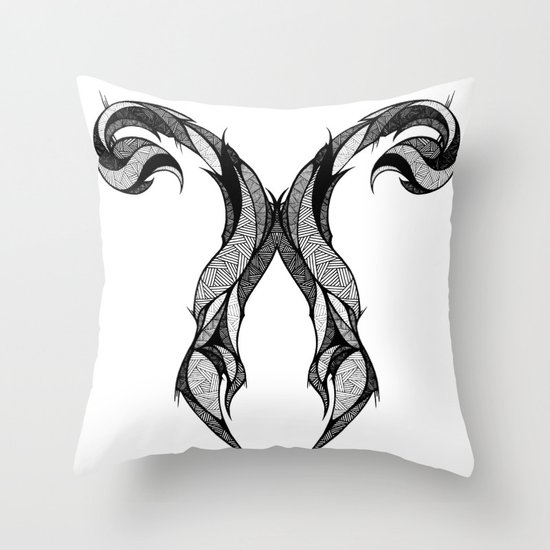 Signs of the Zodiac - Scorpius Throw Pillow