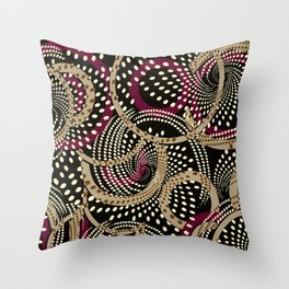 Abstract twirl #2 Throw Pillow