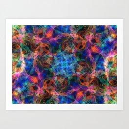 Fireball XL5 Art Print