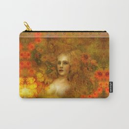 """Ofelita de Oro"" (From ""Death, Life, Hope"") Carry-All Pouch"