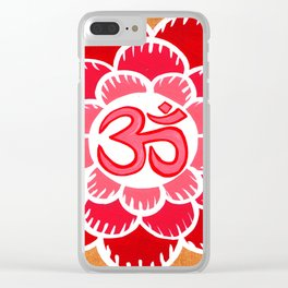 om 9 Clear iPhone Case