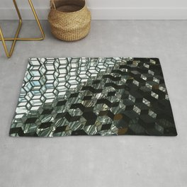Harpa,  concert hall and conference centre Rug