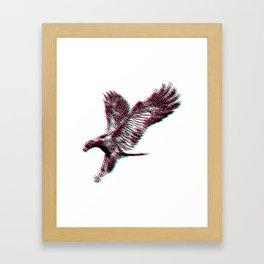 Bird Native birds songbird eagle gift Framed Art Print