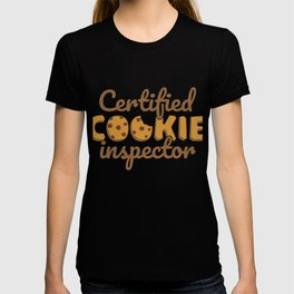 Certified Cookie Inspector Gift T-shirt