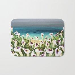 Coastal Calla Lilies Bath Mat