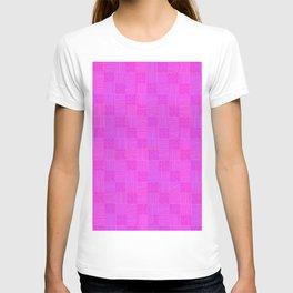 Interpretive Weaving (Pink n Cheeky) T-shirt