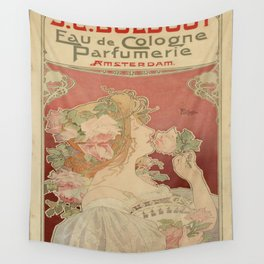 Vintage poster - Parfumerie Wall Tapestry