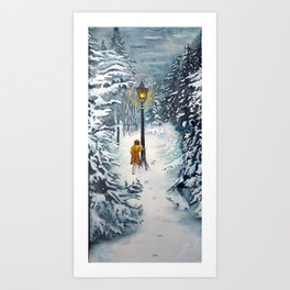 The Lamppost Art Print