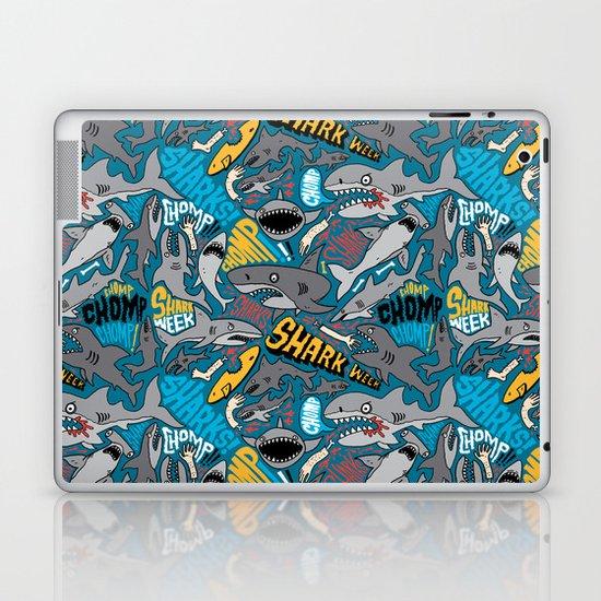 SHARK WEEK! Laptop & iPad Skin