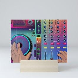 Go DJ Mini Art Print