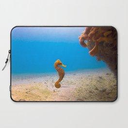 Tropical Seahorse Laptop Sleeve