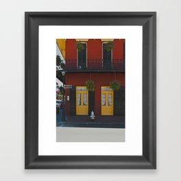 DOOR 1 Framed Art Print