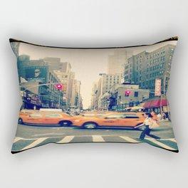 walking  Rectangular Pillow