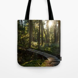 North Shore Trails in the Woods Tote Bag