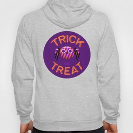 Trick or Treat Candy Cute Spider Hoody