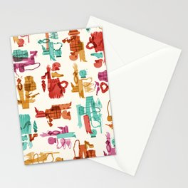 Costume Collage Stationery Cards