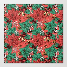 Christmas pattern Canvas Print