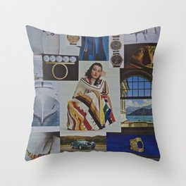 London Sunday Times Magazine re-shuffle 13/9/2020 Throw Pillow