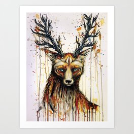 """God of the forest"" Art Print"