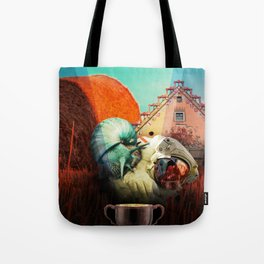 Snails escape Tote Bag