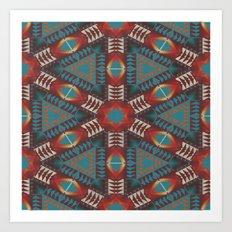 Tribal Pattern Art Print