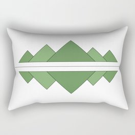 Mountain Reflection Rectangular Pillow