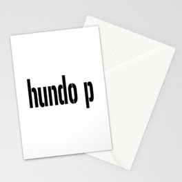 Hundo p Stationery Cards