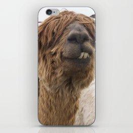 Fluffy Grin iPhone Skin