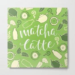 Matcha Latte Metal Print