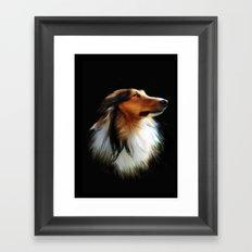 Lassie Framed Art Print