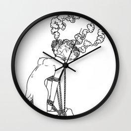 Esquizofrenia Wall Clock