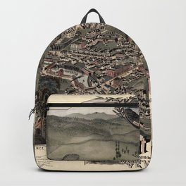 Map Of Montpelier 1884 Backpack