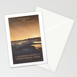Qaummaarviit Territorial Park Stationery Cards