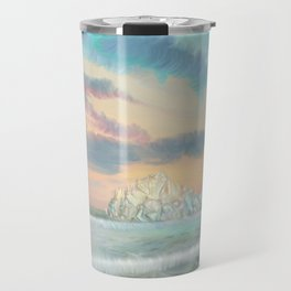 Frozen waves Travel Mug