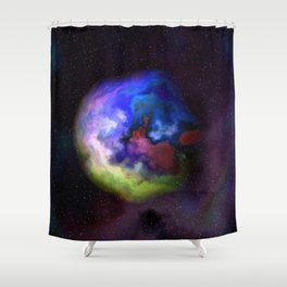 One of A Hundred Nebulas 008 Shower Curtain