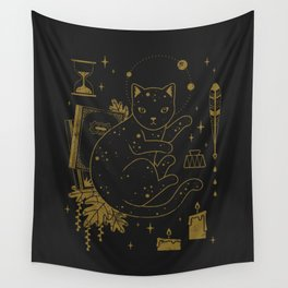 Magical Assistant Wall Tapestry