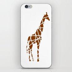Animals Illustration - Giraffe iPhone & iPod Skin