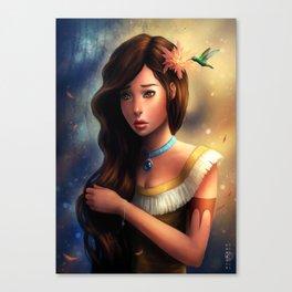 """Disney Pocahontas"" Canvas Print"